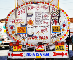 Funny Slogans on Indian Trucks
