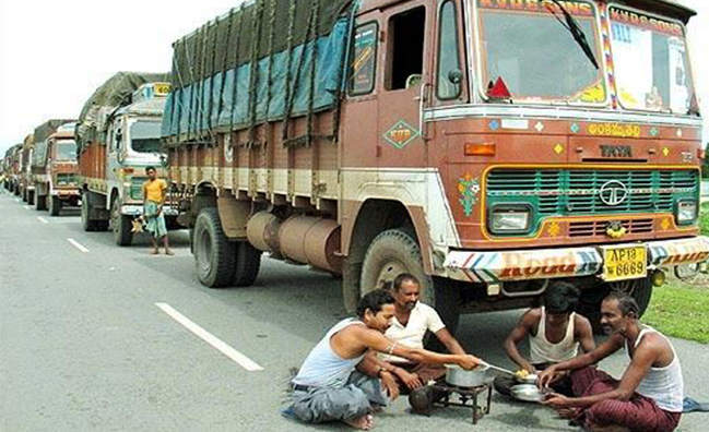 Life of Truck Drivers in India